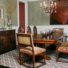 Traditional Dining Room by michelle williams interiors