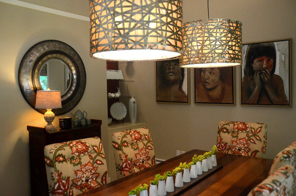 Asian Dining Room by Bayberry Cottage