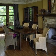 Rustic Dining Room by Rupal Mamtani