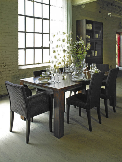 Transitional Dining Room by Rupal Mamtani