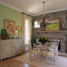 Traditional Dining Room by Wanda S. Horton