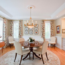 Traditional Dining Room by J. Rhodes Interior Design, Inc.