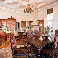 Traditional Dining Room by J. Hettinger Interiors