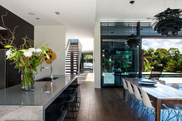 Contemporary Dining Room by Dorrington Atcheson Architects