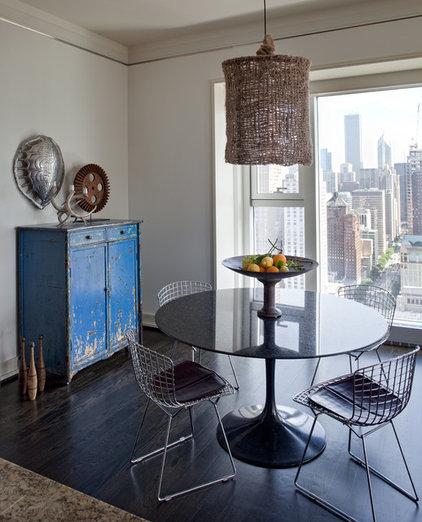 Contemporary Dining Room by Buckingham Interiors + Design LLC