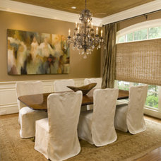 Eclectic Dining Room by Design House, Inc