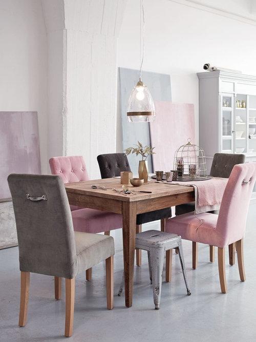 landhausstil esszimmer ideen bilder design houzz. Black Bedroom Furniture Sets. Home Design Ideas