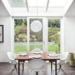 contemporary dining room by Thompson Naylor Architects Inc