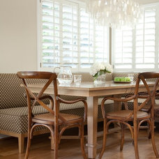 Traditional Dining Room by Jessica Risko Smith Interior Design