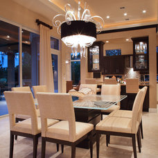 Contemporary Dining Room by Jody Smith Browns Interiors