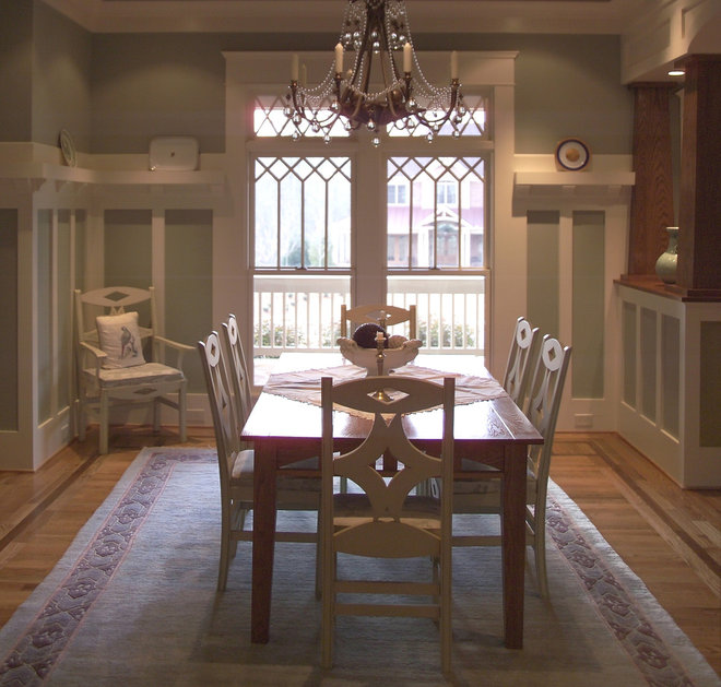 Dining room paneling