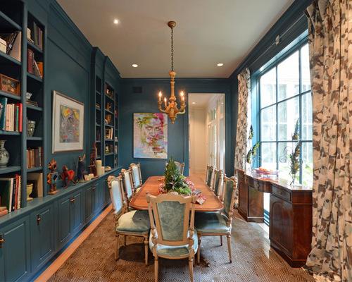 Light Blue Dining Room Houzz  Blue Dining Room