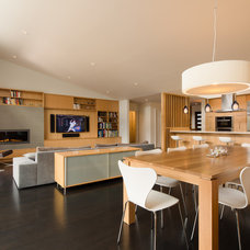 Contemporary Dining Room by Rossington Architecture