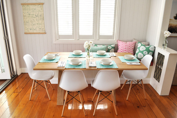 Scandinavian Dining Room by Greenwood's Home