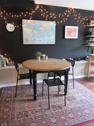 Eclectic Dining Room by hlmp design