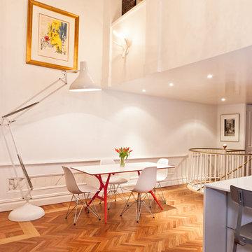 Gramercy Loft modern dining room