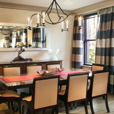 Contemporary Dining Room by Shields & Company Interiors