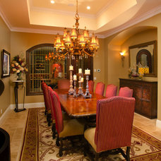 Traditional Dining Room by Weiss Design Group, Inc.