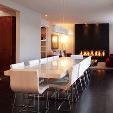 Modern Dining Room by Stephanie Brown Inc.