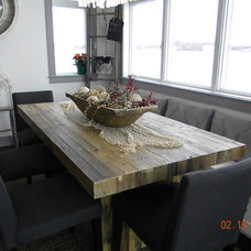 Traditional Dining Room by Designer for Triton Homes, Owner Triton Interiors