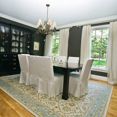 Traditional Dining Room by James River Construction, LLC.