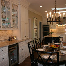 Traditional Dining Room by Amy Southard