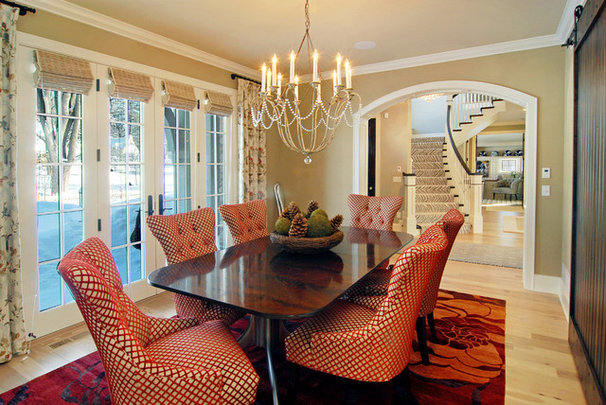 Eclectic Dining Room by Great Neighborhood Homes