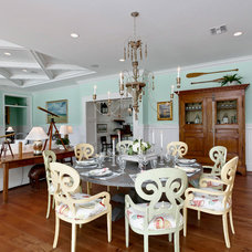 Tropical Dining Room by Weber Design Group, Inc.