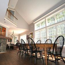 Farmhouse Dining Room by Corbo Associates Inc.