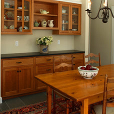Farmhouse Dining Room by Fine Lines Construction