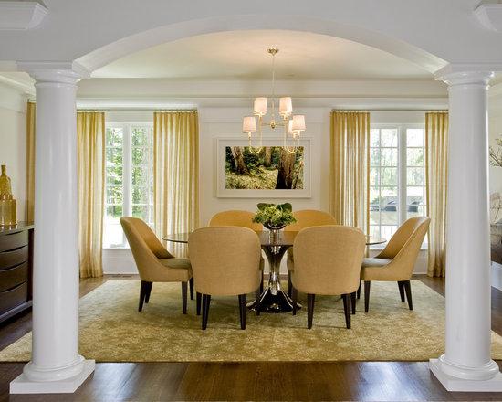 dining room columns | houzz