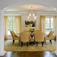 Contemporary Dining Room by Karen Houghton Interiors