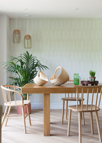 Scandinavian Dining Room by colour + shape
