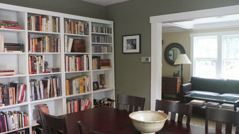 Green/Gray Dining Room in Montclair, NJ