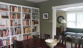 Green/Gray Dining Room in Montclair, NJ
