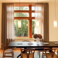 Modern Dining Room by Coates Design Architects Seattle