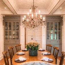 Traditional Dining Room by Camens Architectural Group, LLC