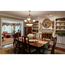 Traditional Dining Room by Vieceli Interior Design