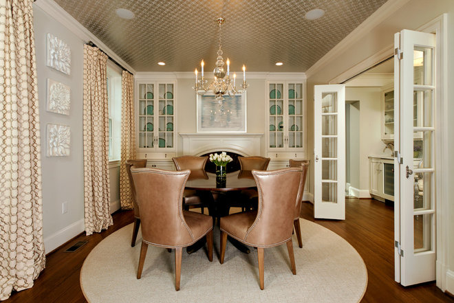 Traditional Dining Room by Harry Braswell Inc.