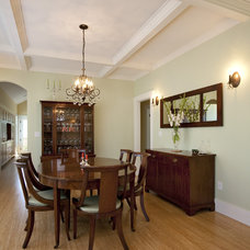 Craftsman Dining Room by Ventana Construction LLC