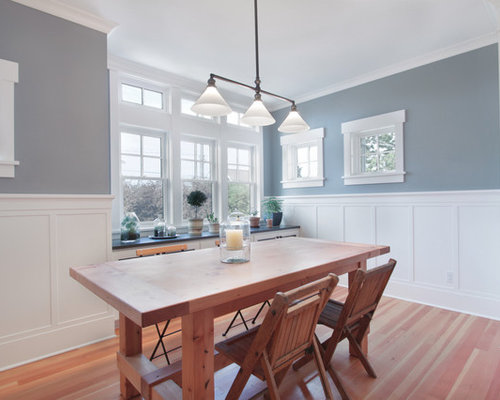Wainscoting dining room houzz for Best dining rooms houzz