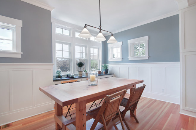 Craftsman Dining Room by First Lamp