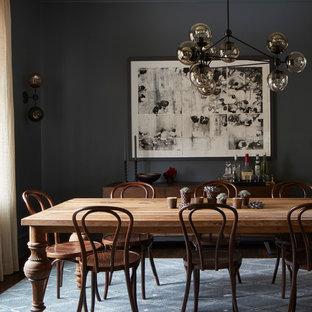 Immagine di una sala da pranzo bohémian