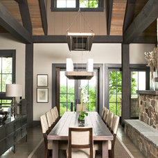 Contemporary Dining Room by The Berry Group