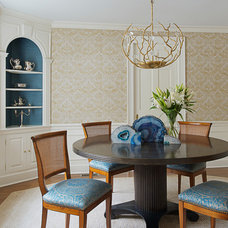 Eclectic Dining Room by Decor Dose LLC