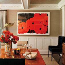 Dining Room by David Scott Interiors