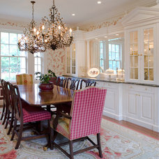 Traditional Dining Room by Molinelli Architects