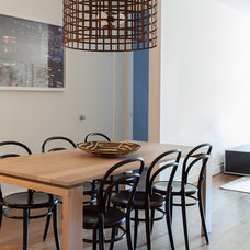 Contemporary Dining Room by Lucy Harris Studio