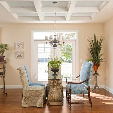 Greenwood Craftsman Model - Dining Room - Beracah Homes - Modular Home