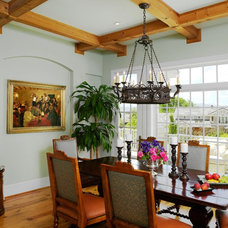 Traditional Dining Room by Oliver Designs